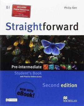 STRAIGHTFORWARD PRE-INTERM.ST(EBOOK) PACK 17