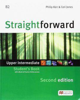 STRAIGHTFWD UPP SB (EBOOK) PK 2ND ED