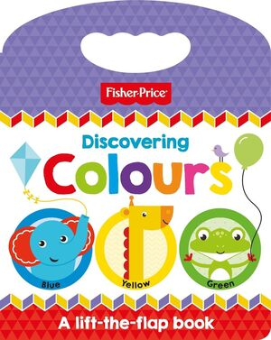 FISHER PRICE - DISCOVERING COLOURS - ING