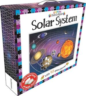 LEARNING BOOK AND JIGSAW SOLAR SYSTEM