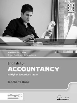 ENGLISH FOR ACCOUNTING IN HIGUER EDUCATION STUDIES - TEACHERS BOOKS