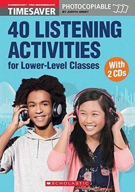TIMESAVER 40 LISTENING ACTIVITIES A1-A2 + CD