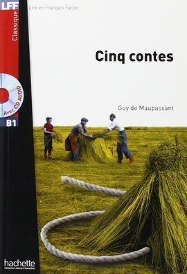 CINQ CONTES+CD