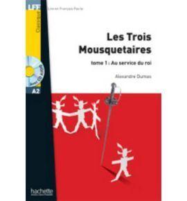 TROIS MOUSQUETAIRES 2+CD AUDIO MP3 LFFA2