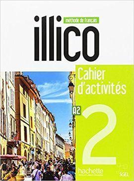 ILLICO A2 - CAHIER D'ACTIVITÉS + CD AUDIO