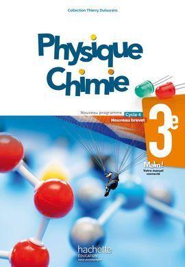 PHYSIQUE CHIMIE 3EME NOUVEAU PROGRAMME CYCLE 4- NOUVEAU BREVET