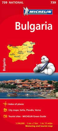 MAPA NATIONAL BULGARIA