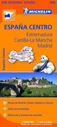 MAPA REGIONAL EXTREMADURA, CASTILLA LA MANCHA, MADRID