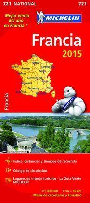 FRANCIA MAPA NACIONAL 721 2015