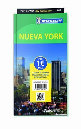 PACK GUÍA VERDE NUEVA YORK CON MAPA TRÁFICO