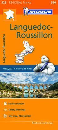 LANGUEDOC-RUSSILLON 526 FRANCIA 2016 MAPA REGIONAL