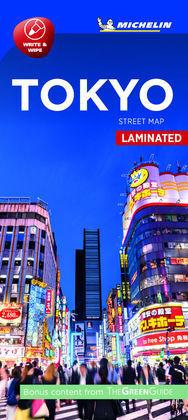 MAPA PLEGLABLE PLASTIFICADO TOKYO