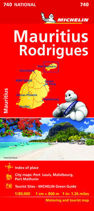 MAPA NATIONAL ISLAS MAURICIO