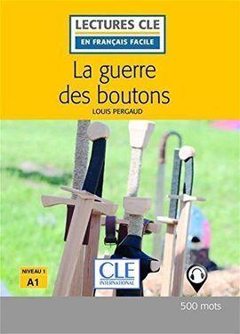 LA GUERRE DES BOUTONS NIVEAU 1 - LIVRE