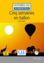 CINQ SEMAINES EN BALLON LIVRE+CD - NIVEA 1/A1 - 2º EDITION