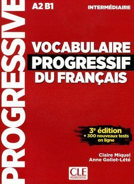 VOCABULAIRE PROGRESSIF FLE INTERMEDIAIRE 3EME EDITION + CD