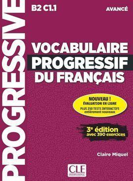 VOCABULAIRE PROGRESSIF DU FRANÇAIS 3º EDITION - LIVRE + CD AUDIO + APPLI NIVEAU