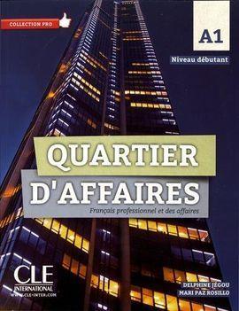 QUARTIER D'AFFAIRES - NIVEAU A1 - LIVRE