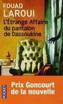 L ETRANGE AFFAIRE DU PANTALON DASSOUKINE