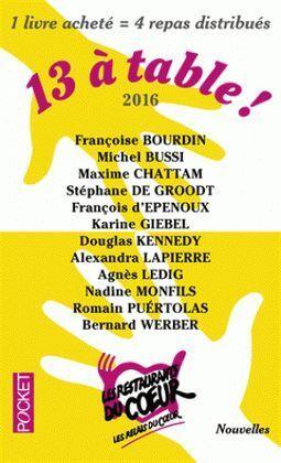 13 À TABLE ! ED. 2016
