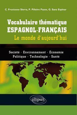 VOCABULAIRE THEMATIQUE ESPAGNOL-FRANÇAIS