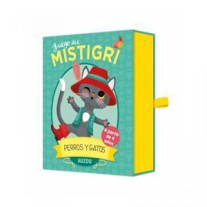PERROS Y GATOS. JUEGO DE MISTIGRI