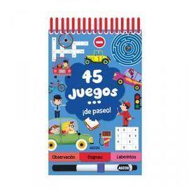 45 JUEGOS ¡DE PASEO EN COCHE!