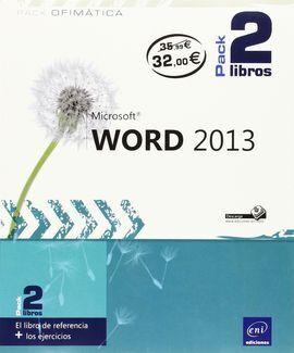 WORD 2013 (PACK 2 LIBROS)