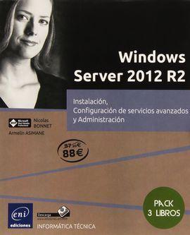 WINDOWS SERVER 2012 R2. PACK EXPERTO. 3 LIBROS