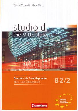 STUDIO D B2/2: KURS- UND ÜBUNGSBUCH