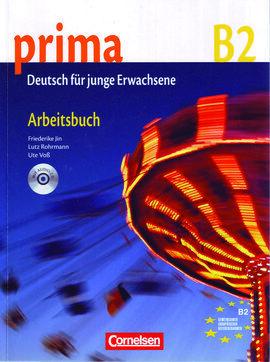 PRIMA B2 ARBEITSBUCH+CD
