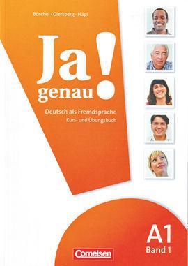 JA GENAU! A1 BAND 1 LIBRO ALUMNO Y EJERCICIOS + CD