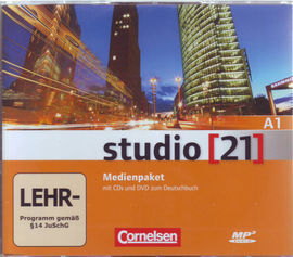 STUDIO 21. PACK CD + DVD + LIBRO DE EJERCICIOS DVD