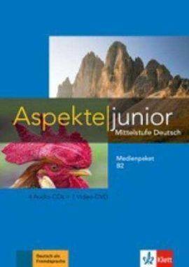 ASPEKTE JUNIOR B2 MEDIENPAKET CD+DVD