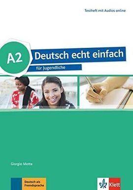 DEUTSCH ECHT EINFACH A2 TEST+MP3