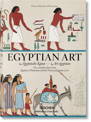 PRISSE D´AVENNES. EGYPTIAN ART