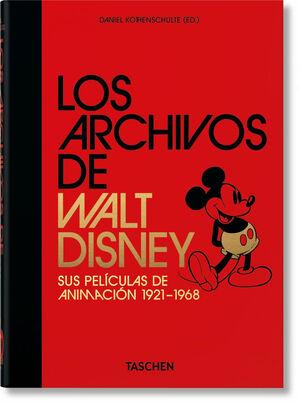 LOS ARCHIVOS DE WALT DISNEY: SUS PELÍCULAS DE ANIMACIÓN – 40TH ANNIVERSARY EDITI