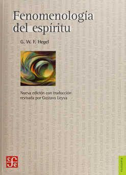 FENOMENOLOGIA DEL ESPIRITU