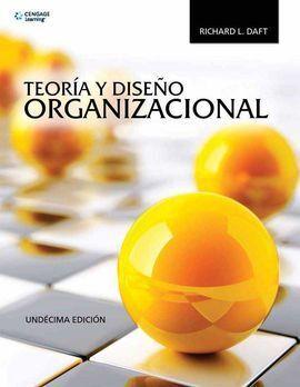 TEORIA Y DISEÑO ORGANIZACIONAL