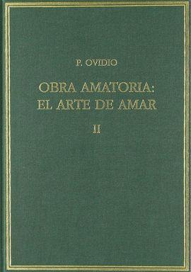 OBRA AMATORIA II: EL ARTE DE AMAR