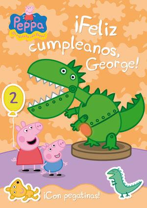 ¡FELIZ CUMPLEAÑOS, GEORGE! - CON PEGATINAS
