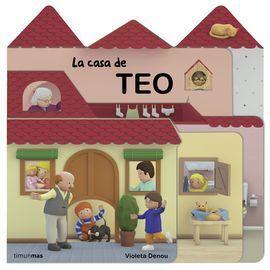 LA CASA DE TEO. CON TROQUELES