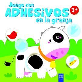 JUEGO CON ADHESIVOS EN LA GRANJA +3. VACA