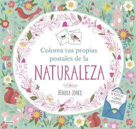 COLOREA TUS PROPIAS POSTALES DE LA NATURALEZA