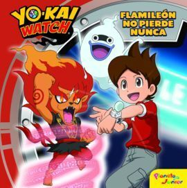YO-KAI WATCH. FLAMILEON NO PIERDE NUNCA