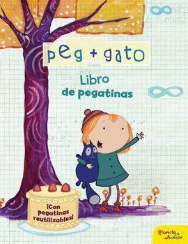 PEG + GATO. LIBRO DE PEGATINAS