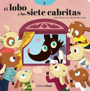 EL LOBO Y LOS SIETE CABRITILLOS. CON MECANISMOS