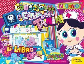 DISTROLLER. NEONATOS. CONSEJOS DE LA ENFERMERA TANIA. LIBRO POP-UP