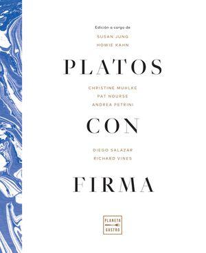 PLATOS CON FIRMA