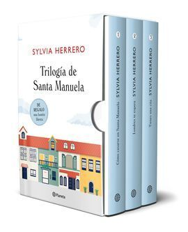 ESTUCHE TRILOGIA SANTA MANUELA